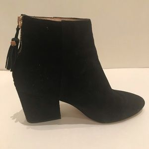 Kate Spade ♠️ 8.5 suede black boots, super comfy